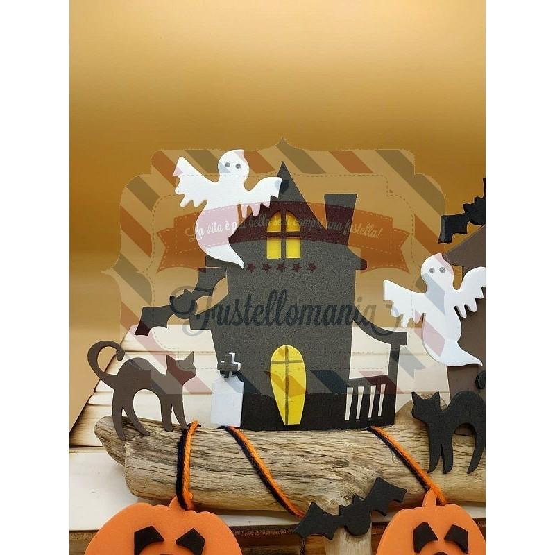 Fustella XL Casetta delle Streghe Halloween